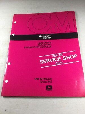 John Deere 1100 Series Cultivator Operators Manual Dealer Version