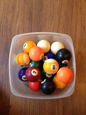 """Pool Ball Replacement Aramith 2.25 inch Regular Size Standard 2 1/4"""""""