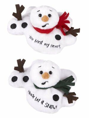 Ganz Melting Sentiment Snowman Set of 2 (HX11631)](Melting Snowman)