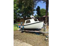 Strangford 16 fishing boat