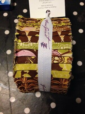 Jelly Roll Design (Design Jelly Roll TINA GIVENS Fortiny Free Spirit 30x 2,5
