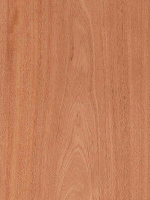 Mahogany Wood Veneer Plain Sliced Paper Backer Backing 2 X 8 24 X 96 Sheet