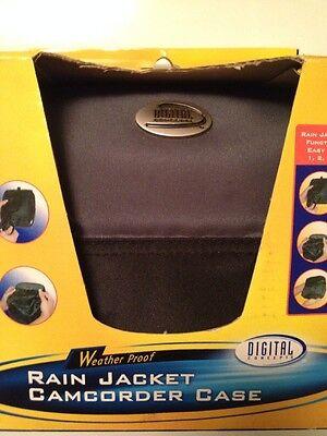 NEW- DIGITAL RAIN COMPACT CAMCORDER CASE- WEATHER PROOF -NIB - Digital Camcorder Case
