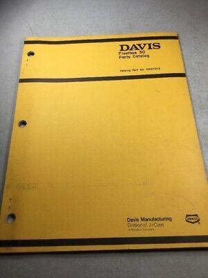 Davis Fleethoe 30 Model T50 Parts Catalog
