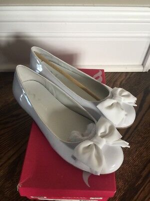 Nina Girls Shoes Communion White Size 3 or 4 Youth   New