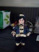 Bisque head and hands doll.