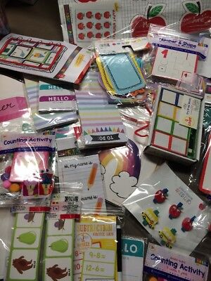 Random Assorted Lot Of 100 Packs New Teacher Supplies School Room Decor - School Teacher Supplies