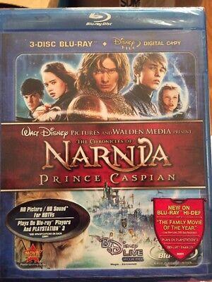 The Chronicles of Narnia: Prince Caspian Blu-ray 3-Disc Set 2008 + Digital Copy