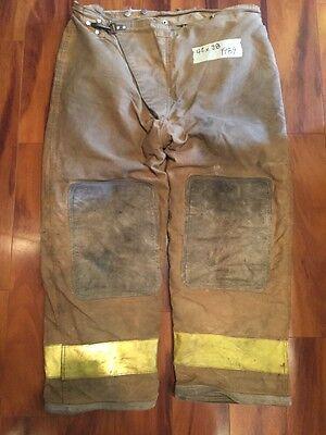 Globe Firefighter Bunker Turnout Pants Vintage 42x28 1989 Halloween Costume