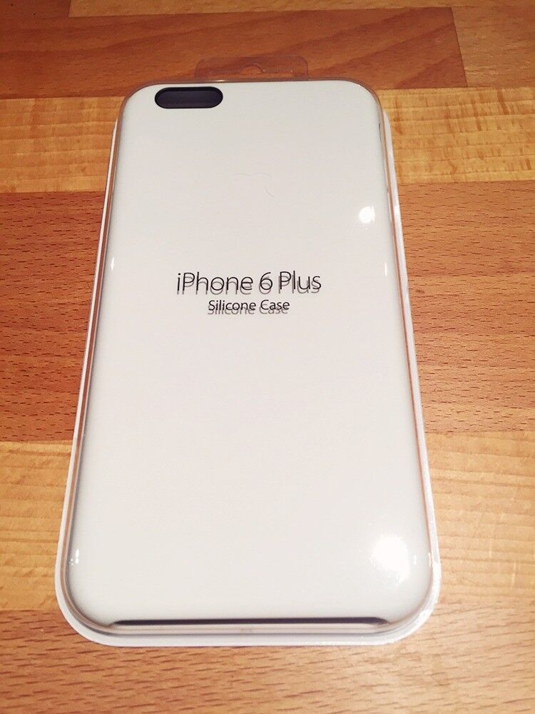 d729fbe724444 Brand new Apple iPhone 6 Plus Silicone Case White (Genuine Apple designed  case - purchased new £45)