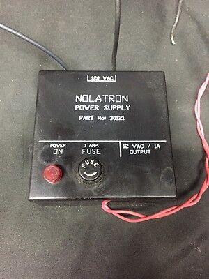 Nolatron Power Supply 30121 12 Volt V Vac 1 Amp 120
