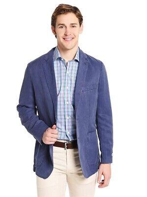 Peter Millar Seaside Collection Tencel Linen Cotton Soft Light Blazer Blue M 40