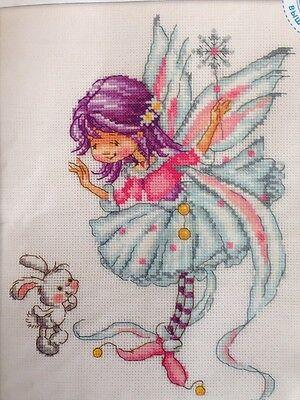 Rto Counted Cross Stitch Kit Make A Wish Fairy Mpn M290 New