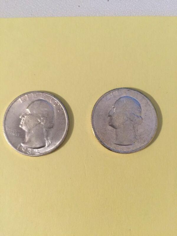 Two Headed Washington Quarter, Magic trick coin,