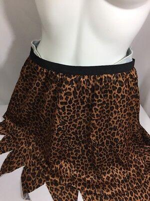Unbranded Girls Halloween Costume Cave Girl Size S Cheetah Print Bin79#32