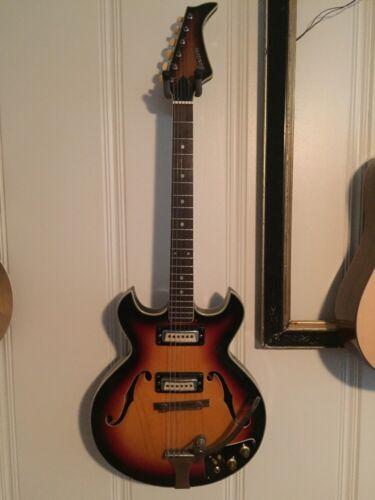 Maxitone Hollowbody Guitar (kay, Teisco, Harmony, Silvertone)