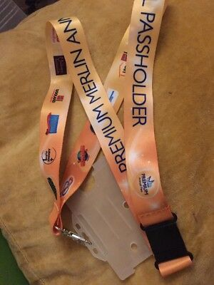 Merlin Annual Pass Lanyard Alton Towers Chessington Legoland New