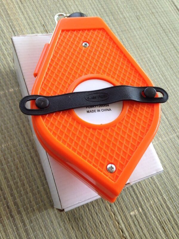 Large CONTRACTOR STRAIGHT-LINE MARKING STRING BRICK BUILDERS CHALK REEL