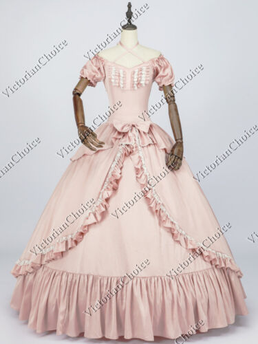 Victorian Southern Belle Princess Fairytale Dress Ball Gown Theater Quality 206
