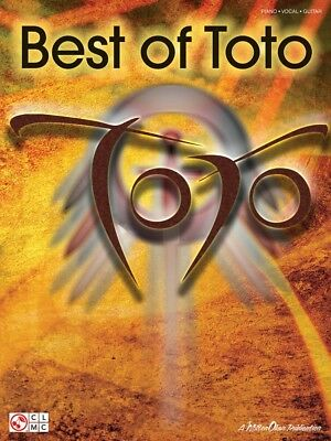 Best of Toto Sheet Music Piano Vocal Guitar SongBook NEW 002501399