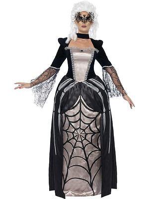 Black Widow Baroness Kostüm, EU 36-38, Halloween-Kostümfest (Baroness Halloween Kostüme)