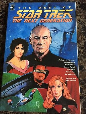 The Best Of Star Trek The Next Generation Graphic Novel (Best Star Trek Next Generation Novels)