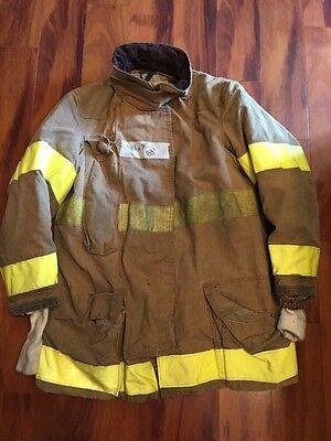 Firefighter Globe Turnout Bunker Coat 44x35 Halloween Costume