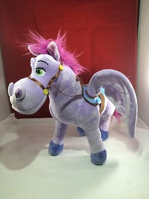 DISNEY plush PURPLE PEGASUS winged pony horse MINIMUS sofia first STUFFED TOY