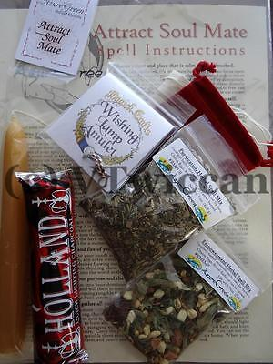 Attract a Soulmate All in One Ritual Spell Kit Pagan Witchcraft Altar Supply for sale  Rutland
