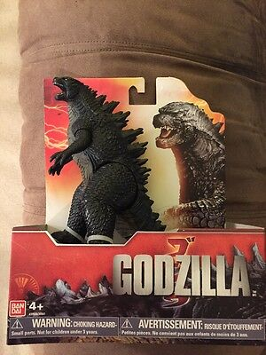 "NEW Bandai GODZILLA Movie 2014 7"" Action Figure"