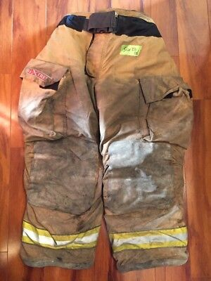 Firefighter Turnout Bunker Pants Globe 36x28 G Extreme Costume 2005