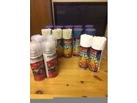 Mixed Spray Paint, Primer , Lacquer Job Lot