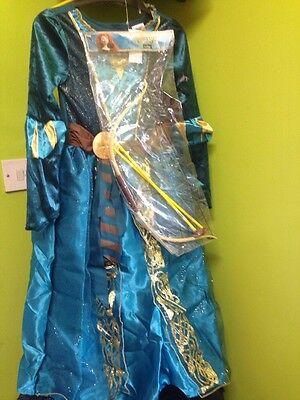 2 styles  Disney Princess Merida Costume bow and arrow Fancy Dress Kids  3-10 Y](Arrow Kids Costume)