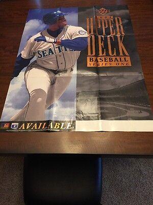 cd37547b7f Rare 1994 Upper Deck Baseball Ken Griffey Jr. Seattle Mariners Poster  MANCAVE