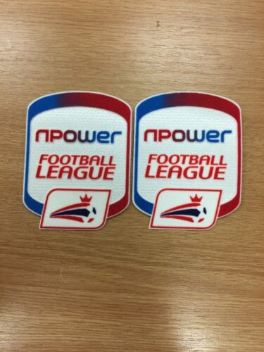 Npower Football League Adult Shirt Patches X 1 Pair