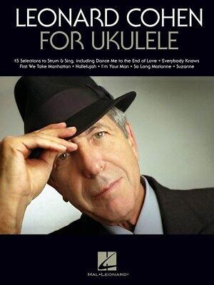 Leonard Cohen for Ukulele Sheet Music Ukulele Book NEW 000265490