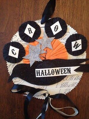 Bethany Lowe Dee Foust Halloween Crow Ornament—Retired