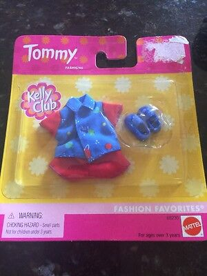 Barbie Kelly Tommy Ryan Friends Doll Clothes  Galaxy Outfit Red Blue Shoes Last