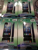 Screen Protectors for Samsung S5 for Retail and Wholesale