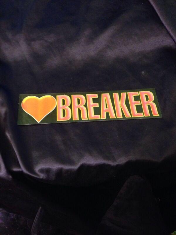 I Love Breaker Bumper Sticker
