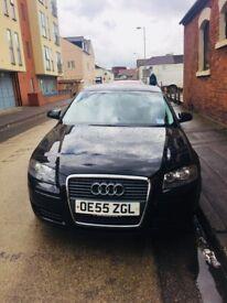 Audi A3 1.6 black 5 door