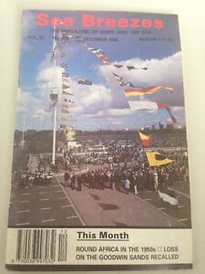 SEA BREEZES magazine  #576 Round Africa In The 1950s- DEC 1993