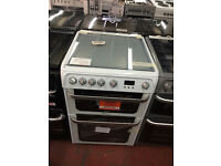 Hotpoint HUK Gas Cooker 60cm Wide Double oven (New) with Free Delivery