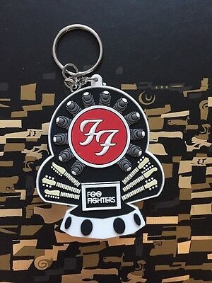 Official Foo Fighters Keyring Key Chain UK Tour Dave Grohl Brit Awards 2018