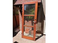 External wooden door and frame (3 available)