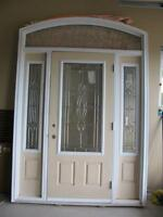 Front Door with side windows - NEVER INSTALLED