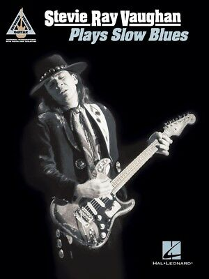 Stevie Ray Vaughan Plays Slow Blues Sheet Music Guitar Tablature Book 000217455