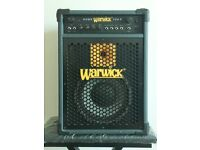 Warwick Cube 100S Bass Combo Amp in great condition.