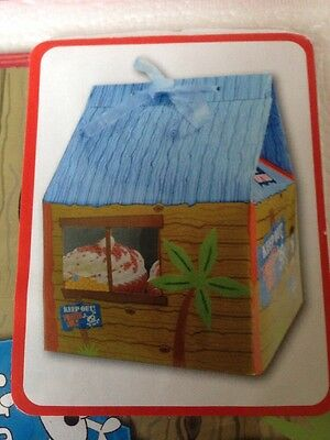 PIRATES PARTY CUP CAKE SHACK - GOODY BOX - CUP CAKES - LOOT BOX  - FAVOUR - NEW
