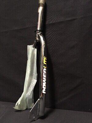 "NOS 90/'s PowerLite 1/"" chrome 20/"" jr racing mini Fork Bmx fits:expert gt redline"